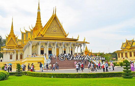 Du lịch Campuchia 4 ngày 3 đêm tự túc: Lịch trình tham quan, vui chơi ở Campuchia 4 ngày 3 đêm giá rẻ