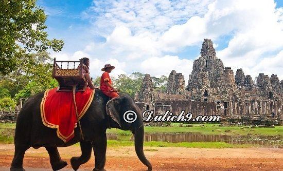 Lịch trình du lịch Campuchia 4 ngày 3 đêm: Kinh nghiệm đi du lịch Campuchia 4 ngày 3 đêm giá rẻ, tự túc