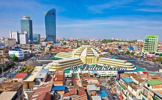 Tour du lịch Campuchia 4 ngày 3 đêm tự túc, giá rẻ: Du lịch Campuchia 4 ngày 3 đêm nên đi đâu chơi?