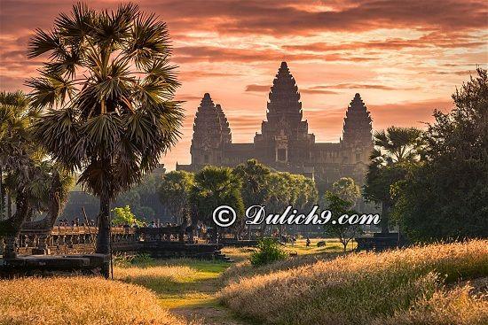 Kinh nghiệm du lịch bụi Siem Riep tự túc, giá rẻ: Du lịch Sieam Reap đi đâu chơi, tham quan?