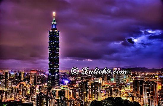 Du lịch Đài Loan 5 ngày 4 đêm từ Hà Nội: Hướng dẫn tour du lịch Đài Loan 5 ngày 4 đêm giá rẻ