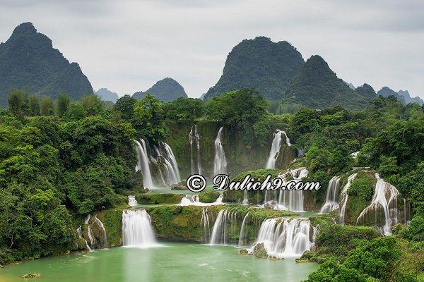 Tour Hà Nội Cao Bằng 2 ngày 1 đêm: Du lịch Cao Bằng 2 ngày 1 đêm nên đi đâu chơi?