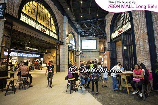 Khu vui chơi giải trí ở Aeon Mall Long Biên: Kinh nghiệm đi trung tâm thương mại Aeon Mall Long Biên