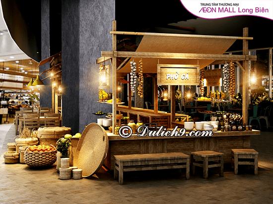 Ăn uống ở Aeon Mall Long Biên: Các nhà hàng, quán ăn trong Aeon Mall Long Biên ngon, bổ, rẻ