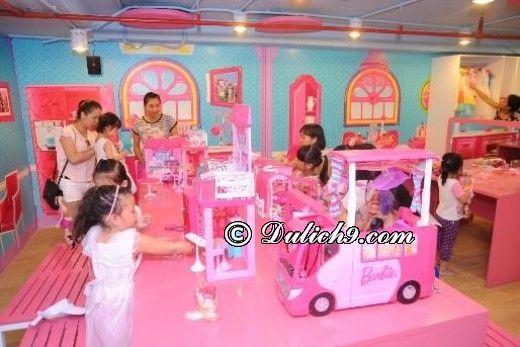 Những khu vui chơi, giải trí hấp dẫn tại Aeon Mall Long Biên: Địa điểm vui chơi giành cho trẻ em ở Aeon Mall Long Biên