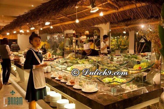 Nhà hàng L'Annam/nhà hàng buffet hải sản ngon nhất ở Hà Nội: Nhà hàng buffet nào ngon, nổi tiếng ở Hà Nội?