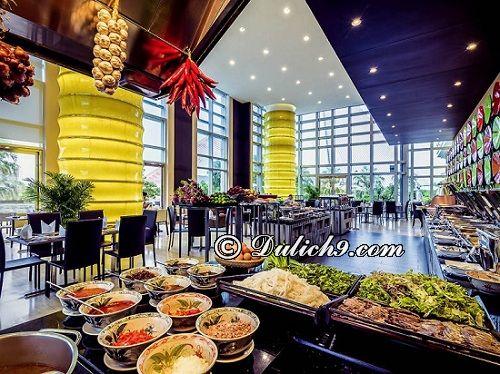 Nên ăn buffet ở đâu Đà Nẵng? Grand Mercure Da Nang -Nhà hàng buffet nổi tiếng ngon nhất Đà Nẵng
