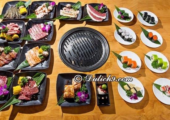 Nhà hàng Osaka BBQ/ buffet lẩu nướng ở Time City: Nhà hàng buffet ngon, nổi tiếng ở Time City