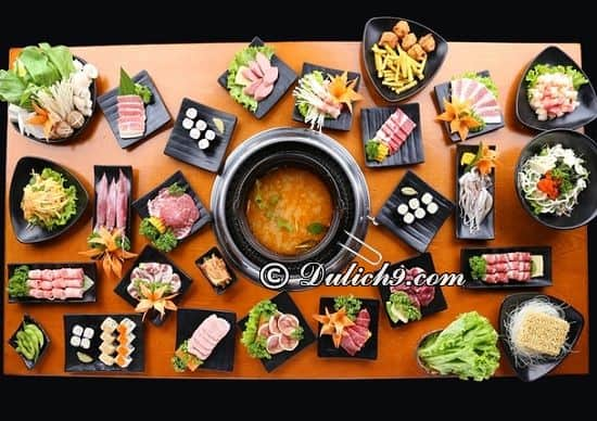 Nhà hàng Yaki BBQ/ quán ăn buffet ngon ở Tim City: Nhà hàng buffet nào ngon ở Time City?