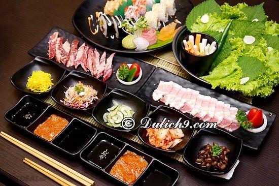 Nhà hàng Samurai BBQ & Sushi Buffet/ ăn lẩu nướng ngon tại Time City