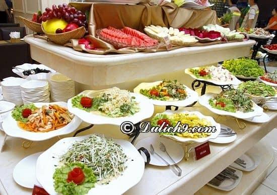 Quán buffet ngon, giá hợp lí ở Time City: Địa chỉ ăn buffet nổi tiếng, ngon, đông khách ở Time City