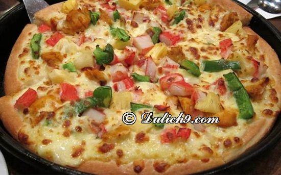 Đà Nẵng có nhà hàng pizza nào ngon, bổ, rẻ? Mr Pizza Đà Nẵng – 45 Trần Phú/ nhà hàng pizza ngon tại Đà Nẵng