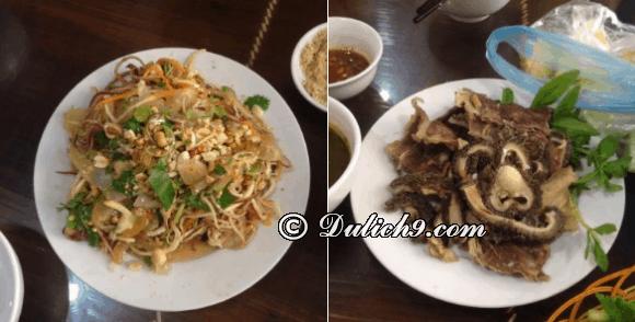 Du lịch Sơn La nên ăn ở đâu? Nhà hàng 75 – Trâu Tây Bắc/ quán ăn ngon nức tiếng Sơn La