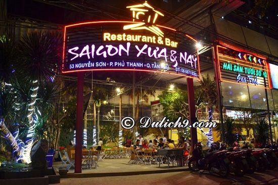 Nhà hàng Út Cà Mau/ quán hải sản bình dân tại Sài Gòn: Sài Gòn có nhà hàng hải sản nào ngon, nổi tiếng?