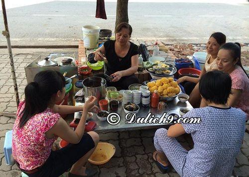 Các địa điểm ăn vặt buổi chiều ở Nam Định: Địa chỉ ăn vặt nổi tiếng, hấp dẫn ở Nam Định