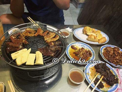 Phố lẩu nướng – đường Nguyễn Thái Học, Tp. Thái Bình: Thái Bình có quán ăn nào ngon, nổi tiếng? Du lịch Thái Bình nên ăn ở đâu?