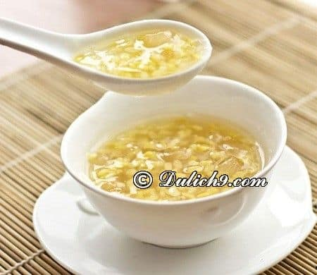 Phố chè - đường Trần Hưng Đạo, Tp. Thái Bình: Địa điểm ăn uống ngon, giá bình dân ở Thái Bình - Quán ăn ngon giá rẻ ở Thái Bình