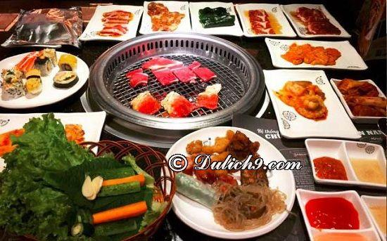 Quán món nướng Hàn Quốc ở thành phố Thái Nguyên: Quán ăn vặt nào ngon, giá rẻ ở Thái Nguyên?