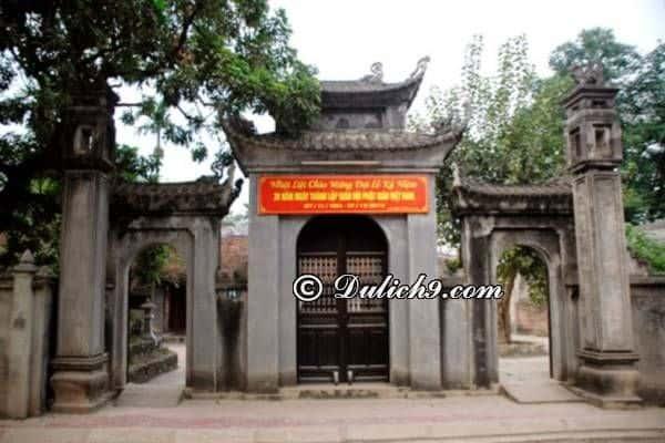 Những di tích lịch sử, đền chùa nổi tiếng ở Hưng Yên: Địa điểm du lịch nổi tiếng ở Hưng Yên. Du lịch Hưng Yên nên đi đâu chơi?