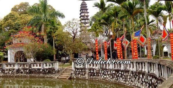 Cụm di tích lịch sử, đền chùa nổi tiếng ở Nam Định: Du lịch Nam Định nên đi đâu chơi? Địa điểm du lịch nổi tiếng ở Nam Định
