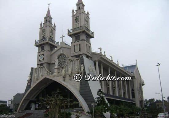 Nhà thờ Chính tòa Thái Bình/ địa điểm đẹp tại Thái Bình: Địa điểm du lịch hấp dẫn, độc đáo ở Thái Bình