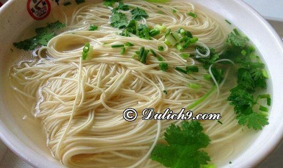 Ăn gì, ở đâu ngon tại Thường Châu/ Đặc sản Thường Châu: Kinh nghiệm ăn uống khi đi du lịch Trung Quốc
