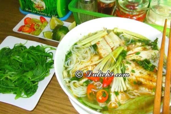 Bún cá rô đồng/ đặc sản Hà Nam nổi tiếng trứ danh: Món ăn ngon, độc đáo ở Hà Nam