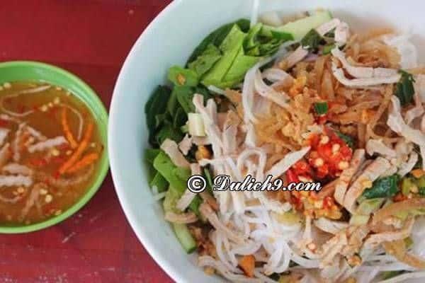 Bún tái kênh/ món ăn không nên bỏ qua ở Hà Nam: Hà Nam có đặc sản gì ngon, hấp dẫn?