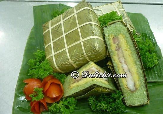Bánh chưng Bờ Đậu – Đặc sản Phú Lương: Thái Nguyên có đặc sản gì nổi tiếng? Món ăn ngon, hấp dẫn ở Thái Nguyên