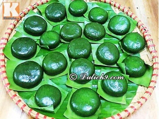 Bánh Ngải của Người Tày - Món bánh đặc sản Thái Nguyên: Nên ăn gì khi phượt Thái Nguyên?