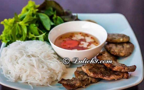 Bún chả/ ăn gì ngon khi du lịch Nam Định? Món ăn đặc sản dân dã ở Nam Định
