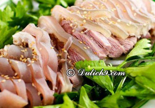 Nhà hàng Tuấn Dê/ địa chỉ ăn nổi tiếng tại Nam Định: Quán ăn nào ngon, giá bình dân ở Nam Định?