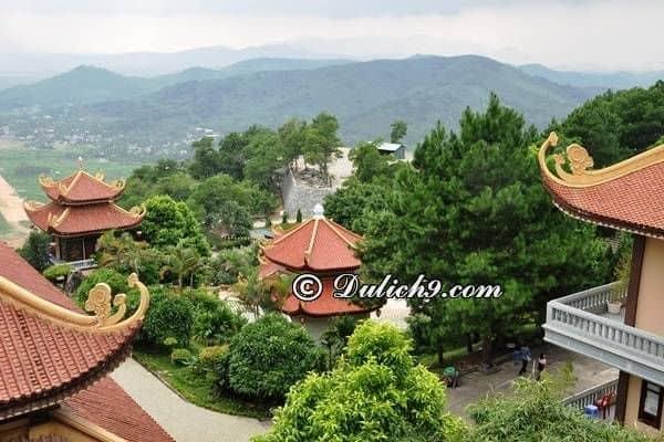 Thiền viện Trúc Lâm ở Tây Thiên/ Điểm tâm linh ở Vĩnh Phúc: Danh lam thắng cảnh đẹp ở Vĩnh Phúc