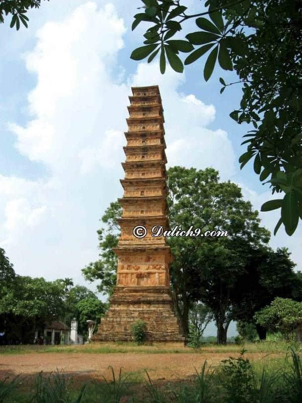 Tháp Bình Sơn/ Địa danh không nên bỏ qua ở Vĩnh Phúc: Vĩnh Phúc có địa điểm du lịch nào nổi tiếng?