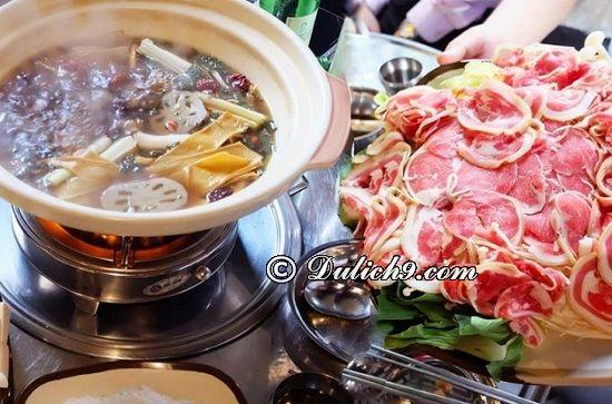 Sừng Quăn - Lẩu Dê Tứ Xuyên/ địa chỉ ăn lẩu dê ngon ở Hà Nội: Quán thịt dê ngon, bổ, rẻ ở Hà Nội