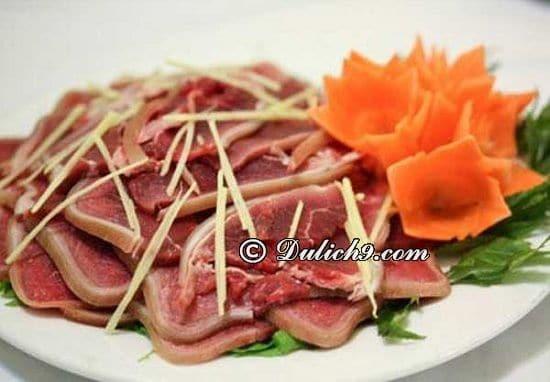 Song Dương - Đặc sản Dê Ré/ ngon dê ngon tại Hà Nội: Địa chỉ ăn thịt dê cực ngon ở Hà Nội