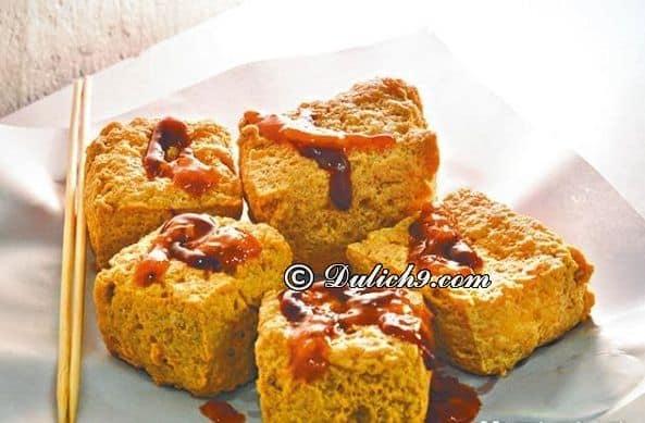 Món đậu phụ thối/ món ăn độc đáo ở Phượng Hoàng cổ trấn: Nên ăn đặc sản gì khi du lịch Phượng Hoàng Cổ Trấn?