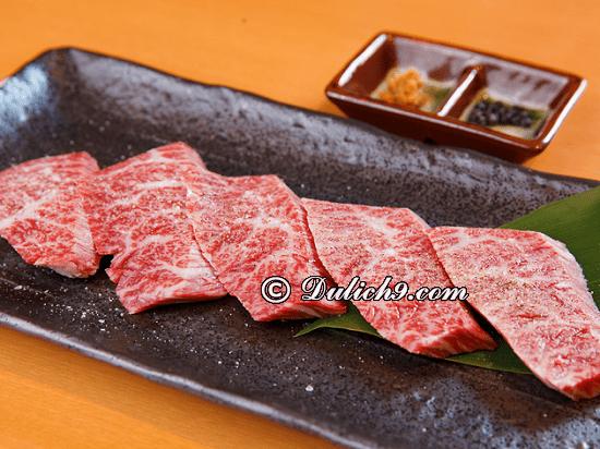 Nhà hàng ngon rẻ ở Osaka: Osaka có quán ăn nào ngon, nổi tiếng?