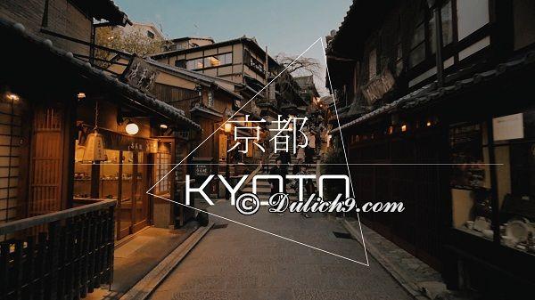 Nên ở khách sạn nào khi tới Kyoto/ Khách sạn, nhà nghỉ ở Kyoto: Kinh nghiệm du lịch Kyoto tự túc, giá rẻ