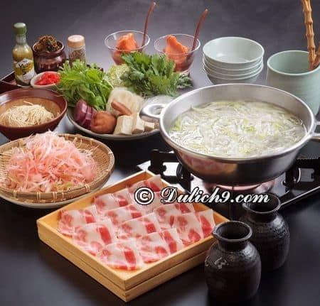 Món lẩu Tecchiri/ ăn đặc sản gì khi tới Osaka? Du lịch Osaka nên ăn món gì?