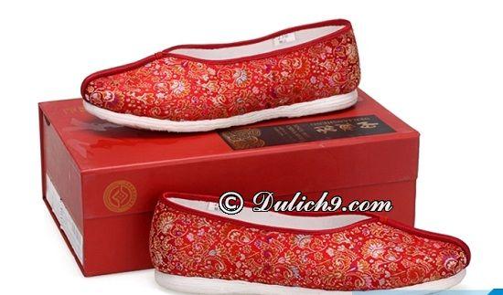 Giày vải Neiliansheng/ mua quà gì ở Bắc Kinh? Du lịch Bắc Kinh nên mua gì làm quà?