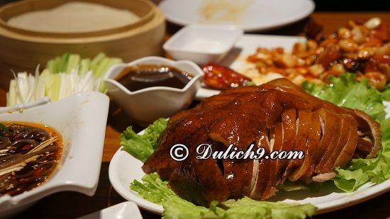 Du lịch Bắc Kinh nên ăn đặc sản gì? Món ăn ngon, hấp dẫn ở Bắc Kinh