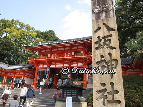 Đền Yasaka/ địa điểm không nên bỏ qua khi tới Kyoto: Nên đi đâu chơi khi du lịch Kyoto?