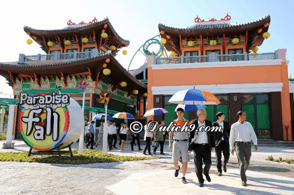 Chơi gì ởcông viên Châu ÁAsia Park - Đà Nẵng? Kinh nghiệm tham quan, vui chơi ở Asia Park Đà Nẵng