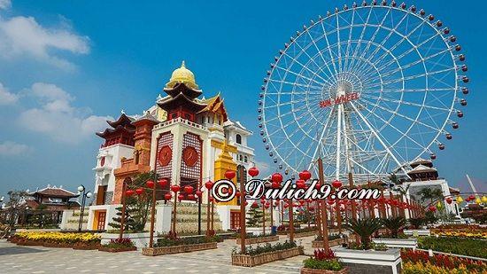 Chơi gì ởcông viên Châu ÁAsia Park - Đà Nẵng? Hướng dẫn đi tham quan, vui chơi ở công viên Châu Á Asia Park Đà Nẵng