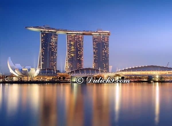 Địa điểm du lịch nổi tiếng ở Singapore: Nên đi đâu chơi khi du lịch Singapore? Danh lam cảnh đẹp ở Singapore