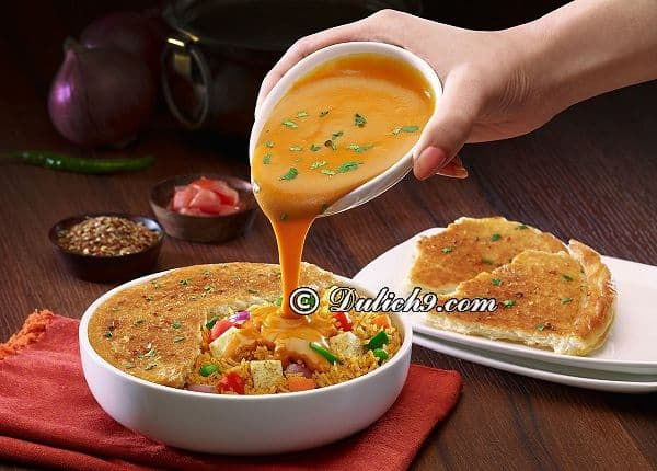 Du lịch Ấn Độ nên ăn món đặc sản gì? Món ăn ngon nổi tiếng ở Ấn Độ