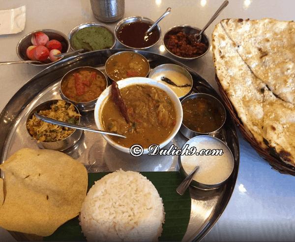 Món ăn đặc sản ngon, nổi tiếng ở Ấn Độ: Du lịch Ấn Độ nên ăn món gì?