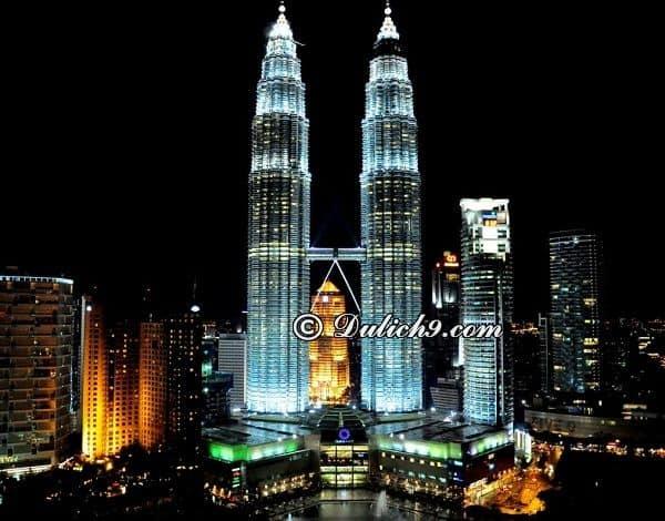 Hướng dẫn du lịch Malaysia 4 ngày tự túc: Du lịch Malysia 4 ngày đi đâu chơi, lịch trình chi tiết