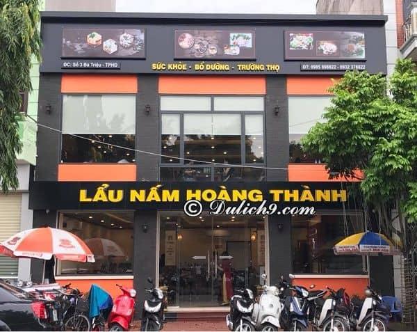 Nên ăn ở đâu khi du lịch Hải Dương? Địa chỉ nhà hàng, quán ăn ngon, giá rẻ ở Hải Dương nổi tiếng, đông khách